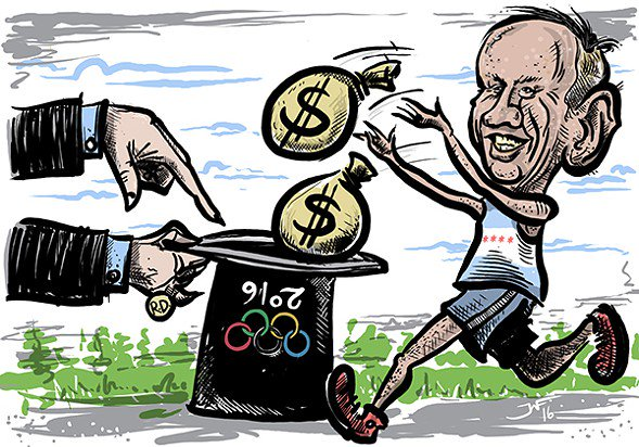 No money for schools? Remember when everyone was ready to break the bank for the Olympics?
