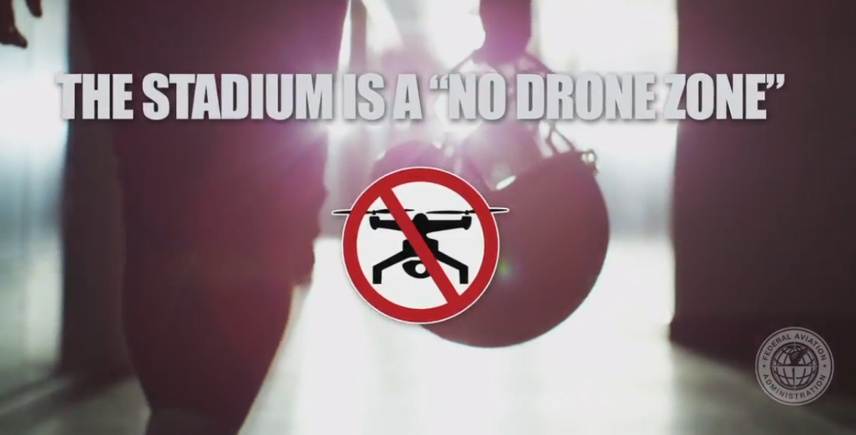 SB50  restrictions active, nodronezone w/in 32NM of stadium, pilots ️ NOTAMs b4 takeoff