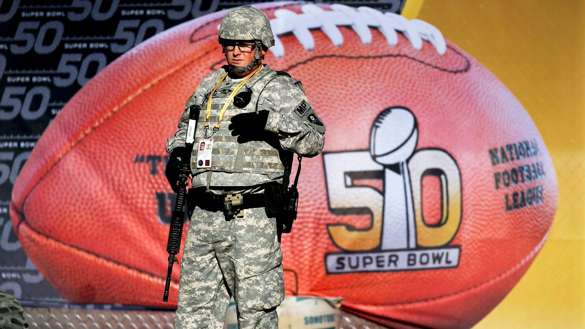 Super Bowl 50: Security amplified prior to the big kick off