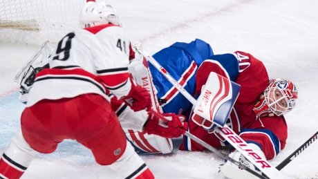 Canadiens sweep weekend with triumph over Hurricanes