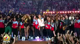 Great halftime show by Coldplay, Beyonce & Bruno Mars! SuperBowl50 SB50