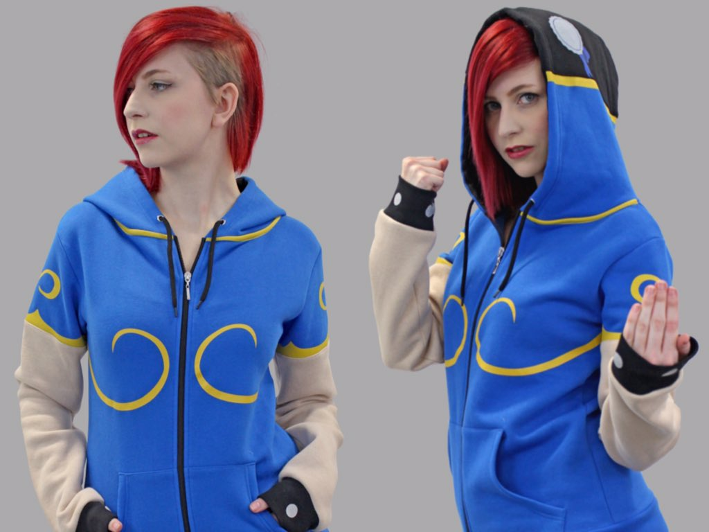 The new Chun Li hoodie from @NumskullDesigns is pretty much the best thing ever!