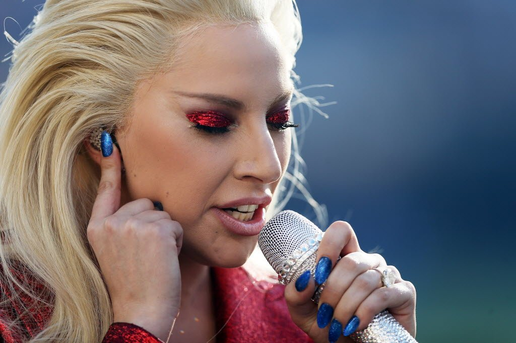 That feeling when you nail the national anthem at the SuperBowl. LadyGaga
