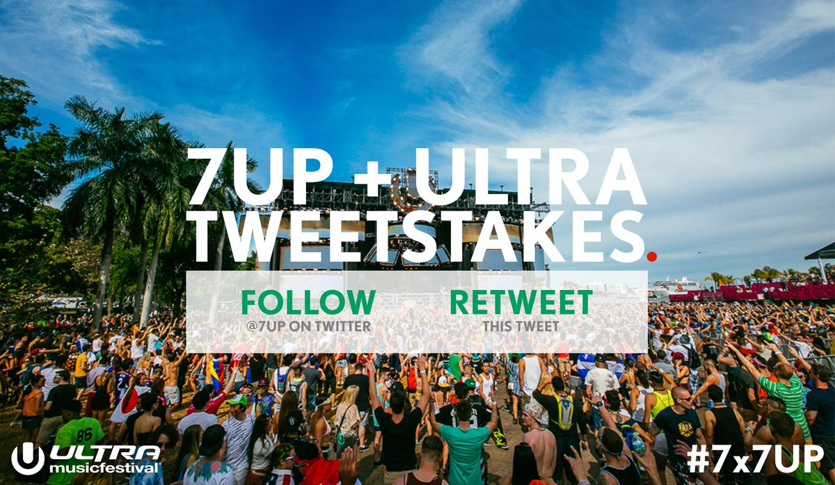 Today's the day! Retweet for your chance at free @Ultra tickets! #Ultra2016 #Sweepstakes #7x7UP https://t.co/xfYGIvWlOg