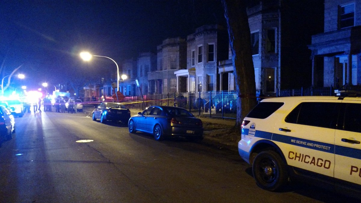 CPD say four people shot. Near w. 66th & s. Green. Conditions unknown @WGNNews