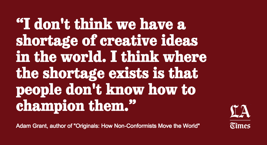 How do people with groundbreaking ideas bring them into reality?