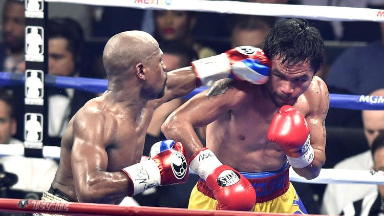Boxing writers select Floyd Mayweather Jr. fighter of the year