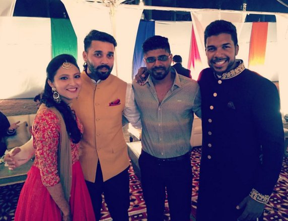 Murali Vijay Wife Pic