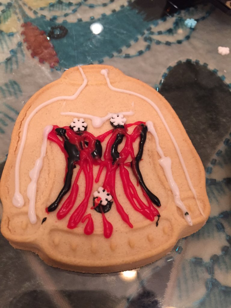 #EsuranceSweepstakes making ugly sweaters .@esurance some cookies get adult-ish.  More like grown-up-ish. https://t.co/ZjnXQPdIIO