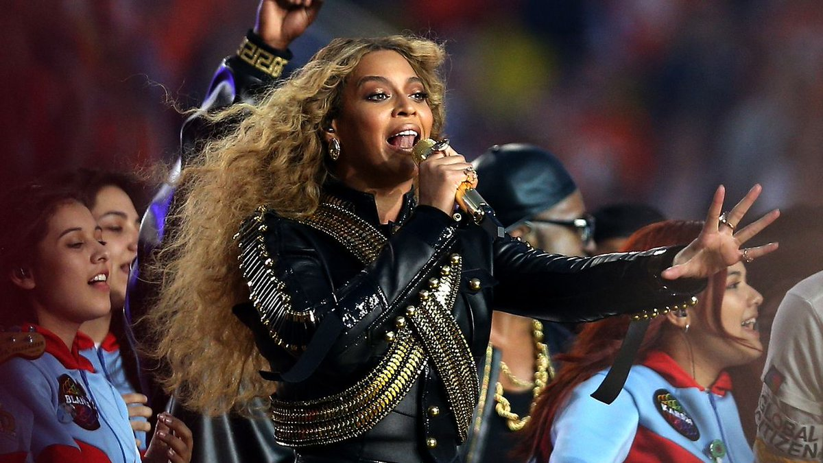 At SB50, @Beyonce announces Houston show on Formation World Tour