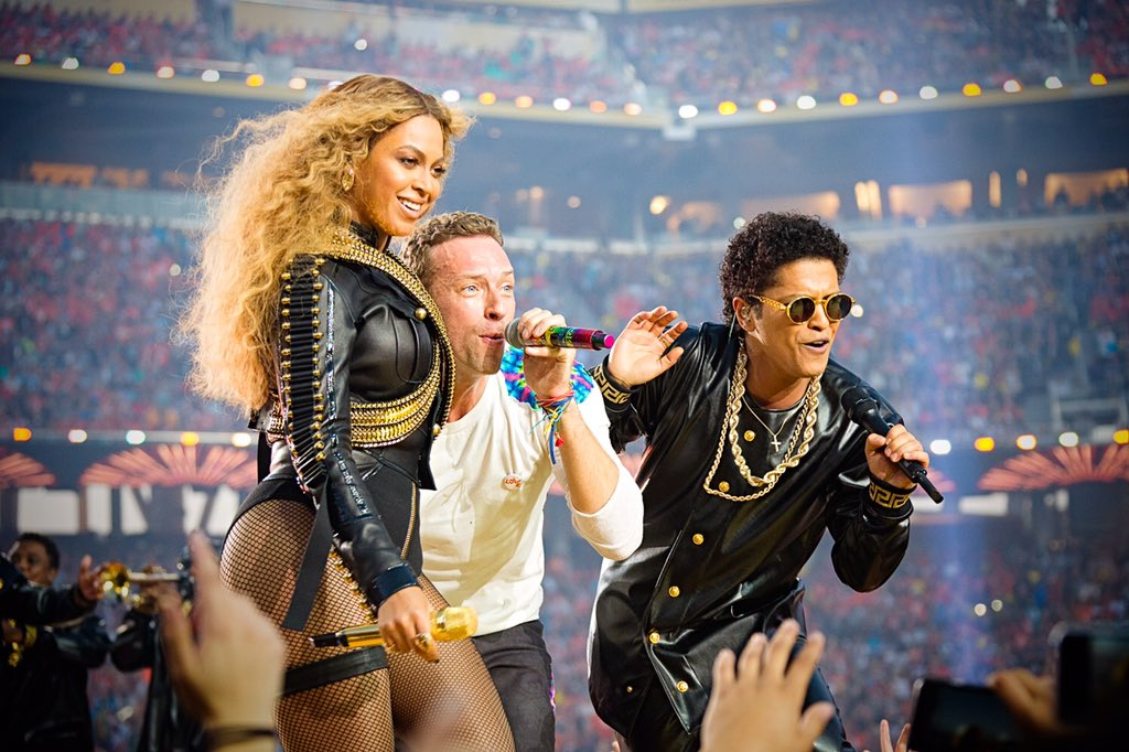 Bruno and Beyoncé and all your teams. Thank you. We love you so much. Love Coldplay https://t.co/ULxc4nywHQ