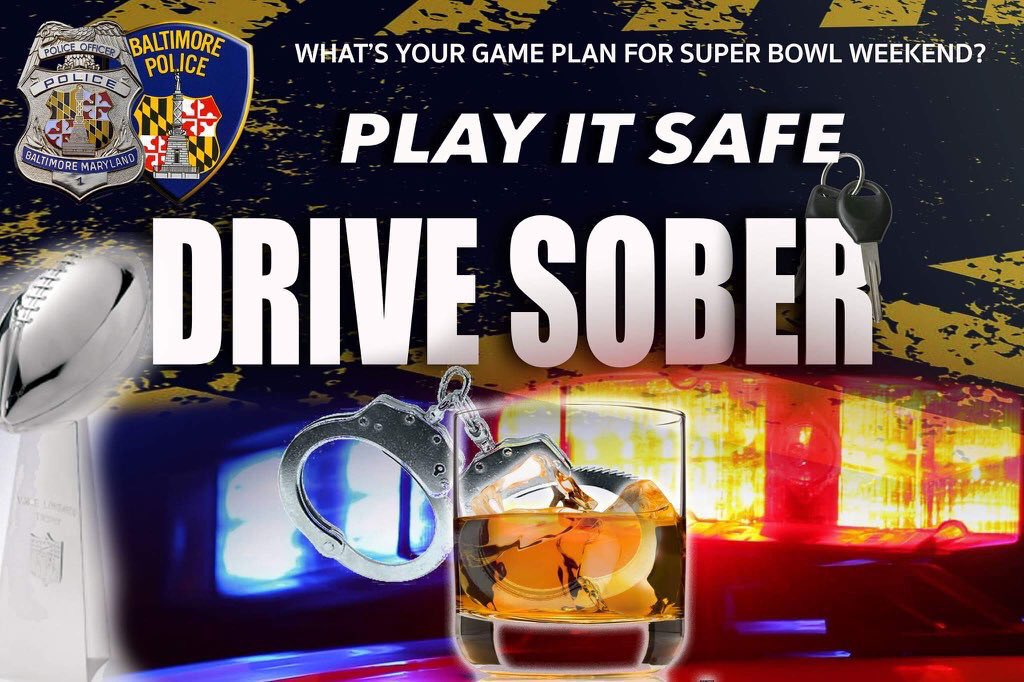 Hope you enjoyed this game! But be smart when heading home- @Uber, @MtaMaryland, cab, friends, don't drive drunk!