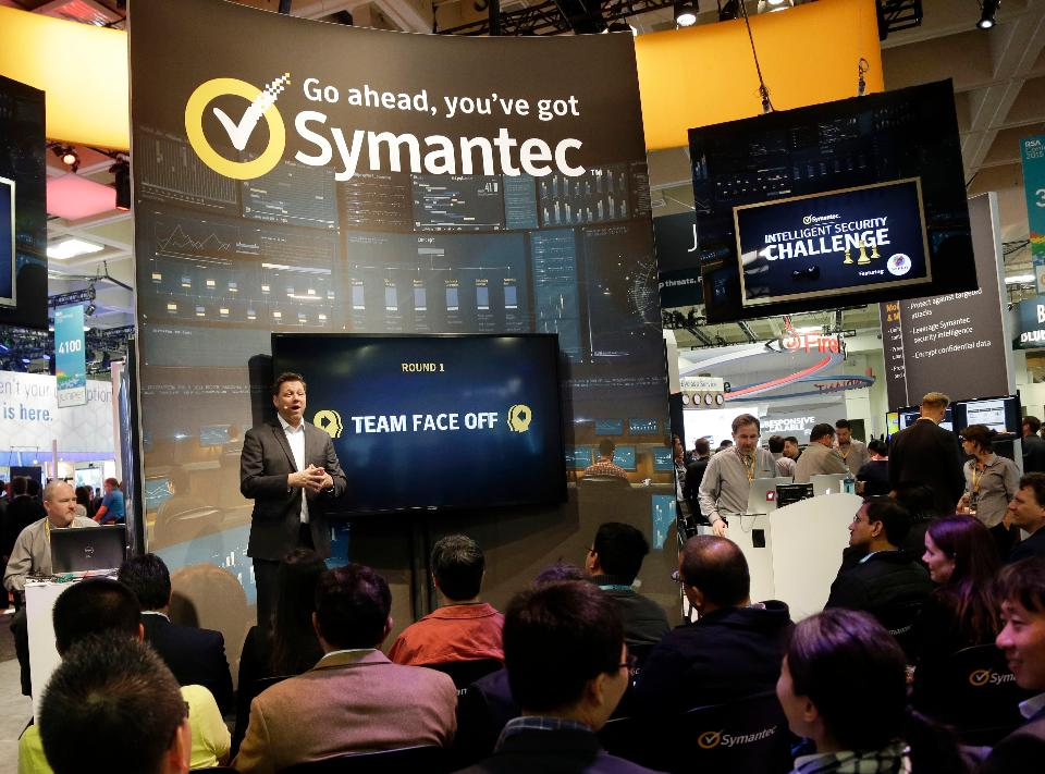 Who will Symantec acquire with their $5B in cash?