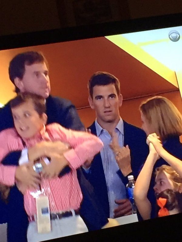 Eli Manning Explains His Epic Blank Expression From Super Bowl 50