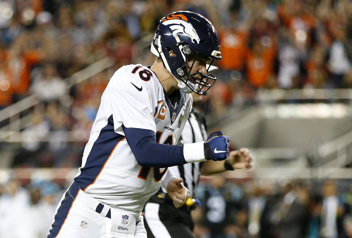 Broncos Defeat Panthers 24-10 To Win Super Bowl 50 SB50