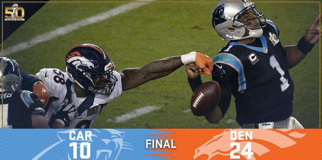 Superbowl 2016: la terza volta dei Broncos Denver