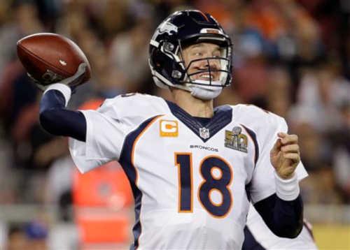 SPORTS ALERT: Denver Broncos win SB50, beat Carolina Panthers 24-10.