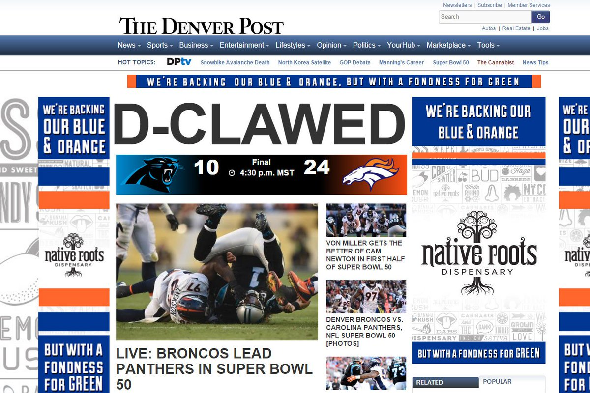 Home page of @denverpost: https://t.co/GizW3edRpA https://t.co/7FRFXxGIsw