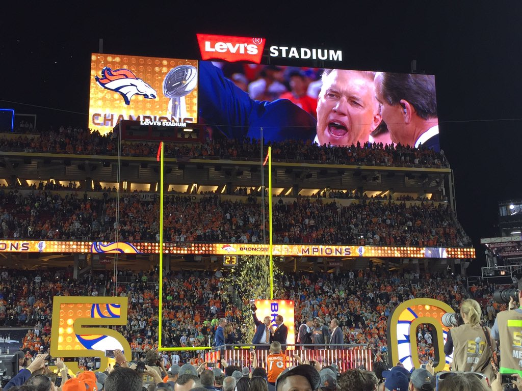 Elway: This ones for Pat! https://t.co/PCgPFoMxpA