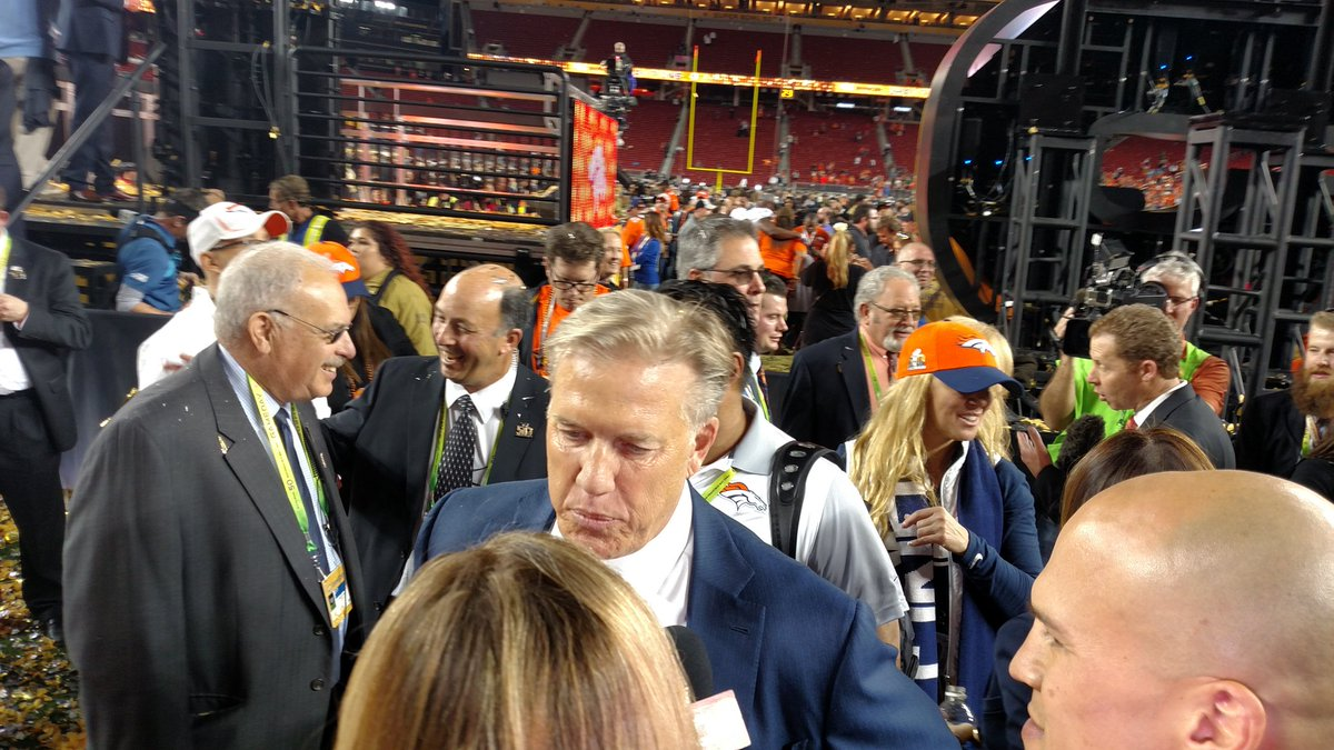 John Elway won as a player and as an executive. Broncos SuperBowlChamps