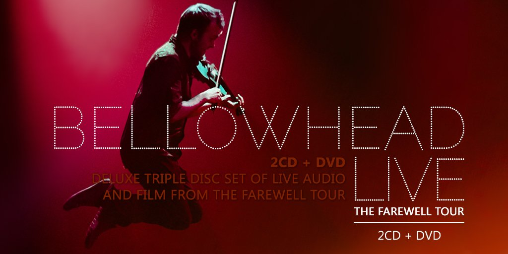 We're pleased to announce Bellowhead Live: The Farewell Tour will be released on the 8 April https://t.co/WJNJqQ2vG4 https://t.co/JV9dgXRsnk