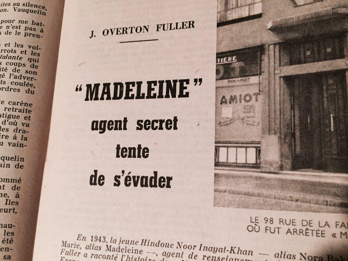 Et puis cet article dans un numéro d'Historia #Madeleineproject https://t.co/lBOQ8T2nhg