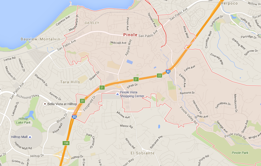 All lanes of WB 80 at Appian Way in Pinole are closed due to police activity.