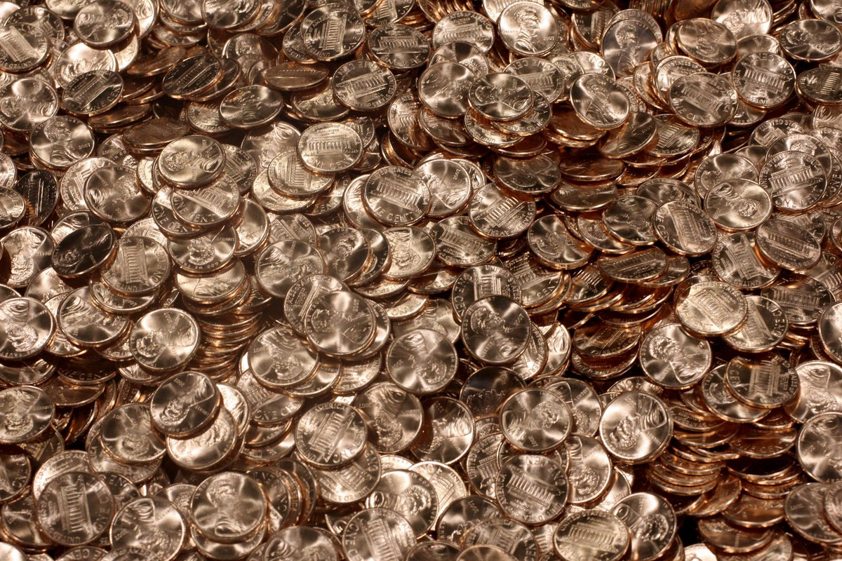 Penny cheapest in 7 years as drop in zinc prices benefit U.S. taxpayers
