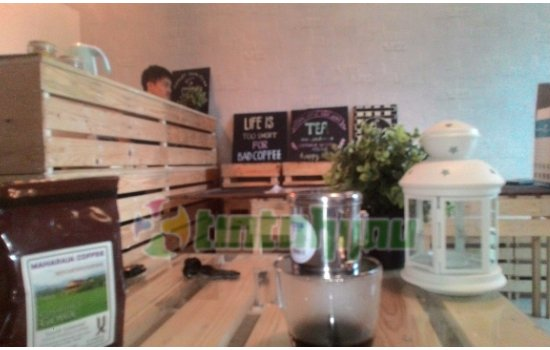 Pallet Coffe, Kedai Kopi Bagi The Real Coffe Lover
