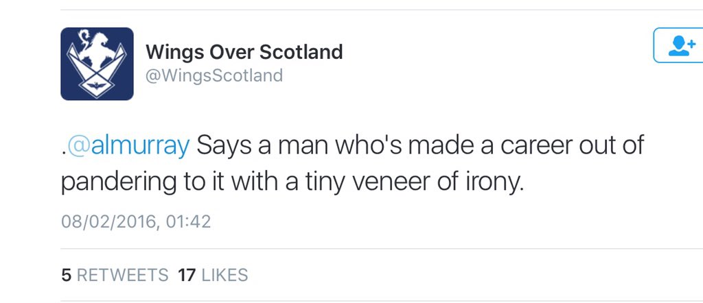 Indeed, here I am sharing a joke with a pandered to nationalist https://t.co/VtGnMoIZ6W
