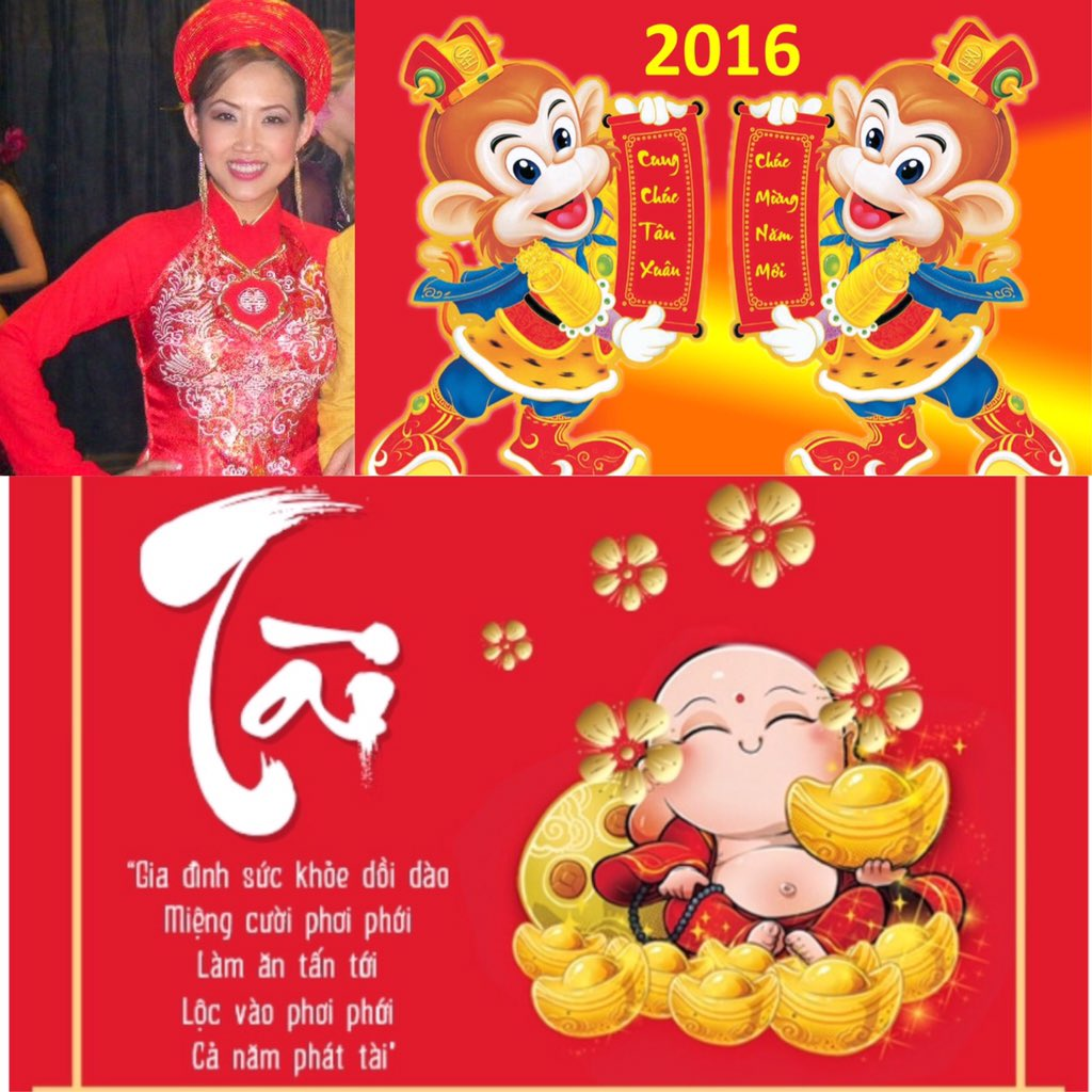 Happy #TET, #LunarNewYear 2016, to the year of the monkey.