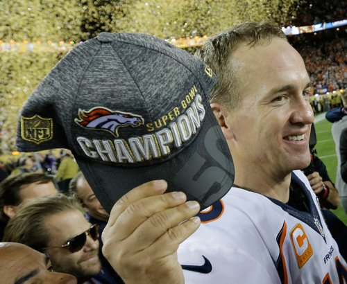 Peyton Manning headed to @Disneyland Monday after SB50 win