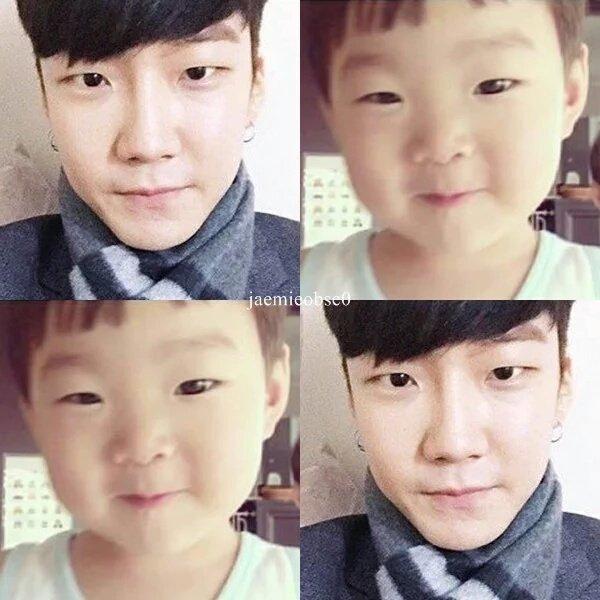 Daehan will definitely look like Winner's Seunghoon 15 years later