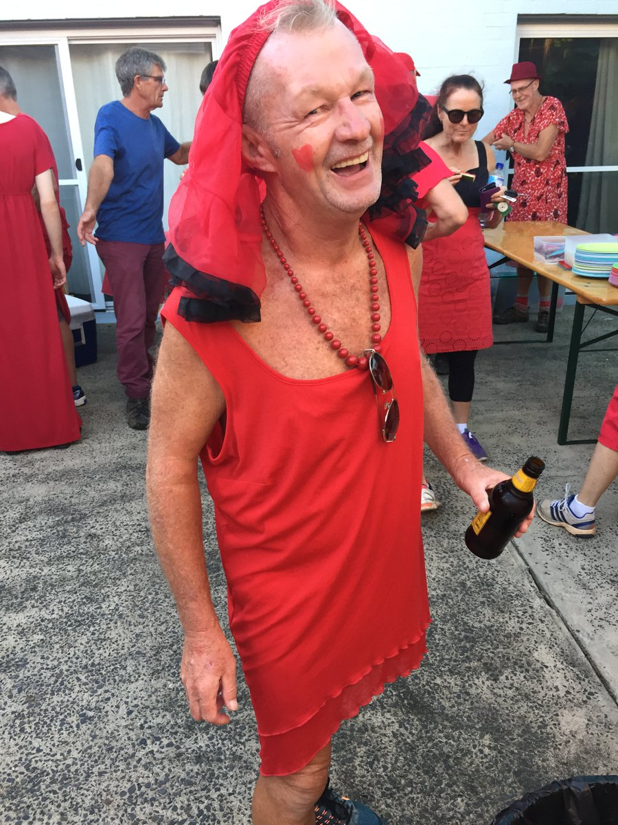 Red dress xl hospice