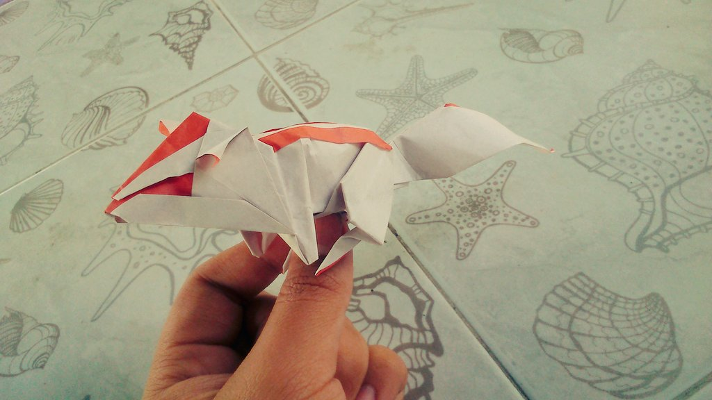 Ji Sorn Origami On Twitter Chipmunk By Katsuta Kyohei Folder From