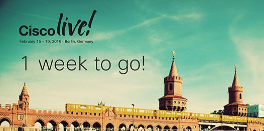 It's the final countdown... We're just one week away from #CLEUR! Are you ready?! https://t.co/Z52PrAgA6V