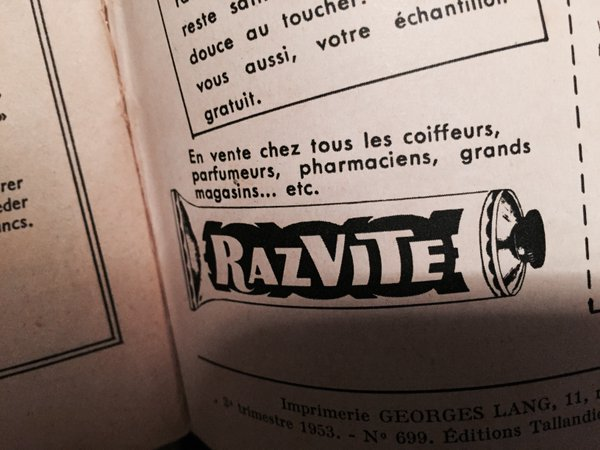 "I do like this ad for ""Razvite"", a cream that helps you shave twice as fast #MadeleineprojectEN https://t.co/vIrC4vQV4z"