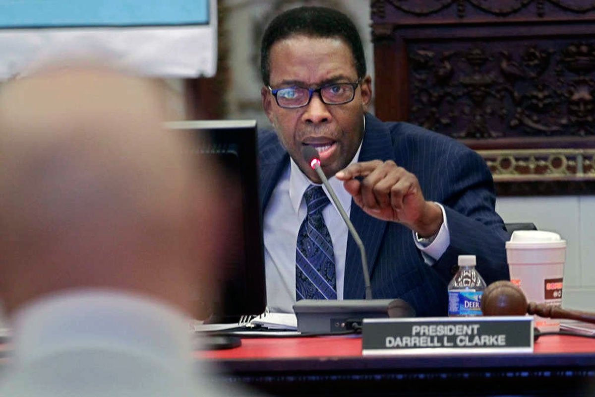 Council Pres. @Darrell_Clarke to announce 'energy plan' to create 10,000 jobs in 10 years