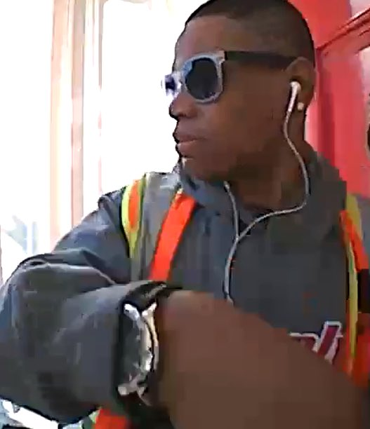 Do you know who this is? Big watch/earrings, PG&E vest, seen 2 weeks ago in Pac Heights. I-Team at 6 today. ABC7now
