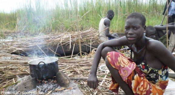 #SouthSudan: #UN agencies warn of escalating food crisis. 25% of the pop. is food insecure https://t.co/Inus2BjVjM https://t.co/5mNN6NDrEx