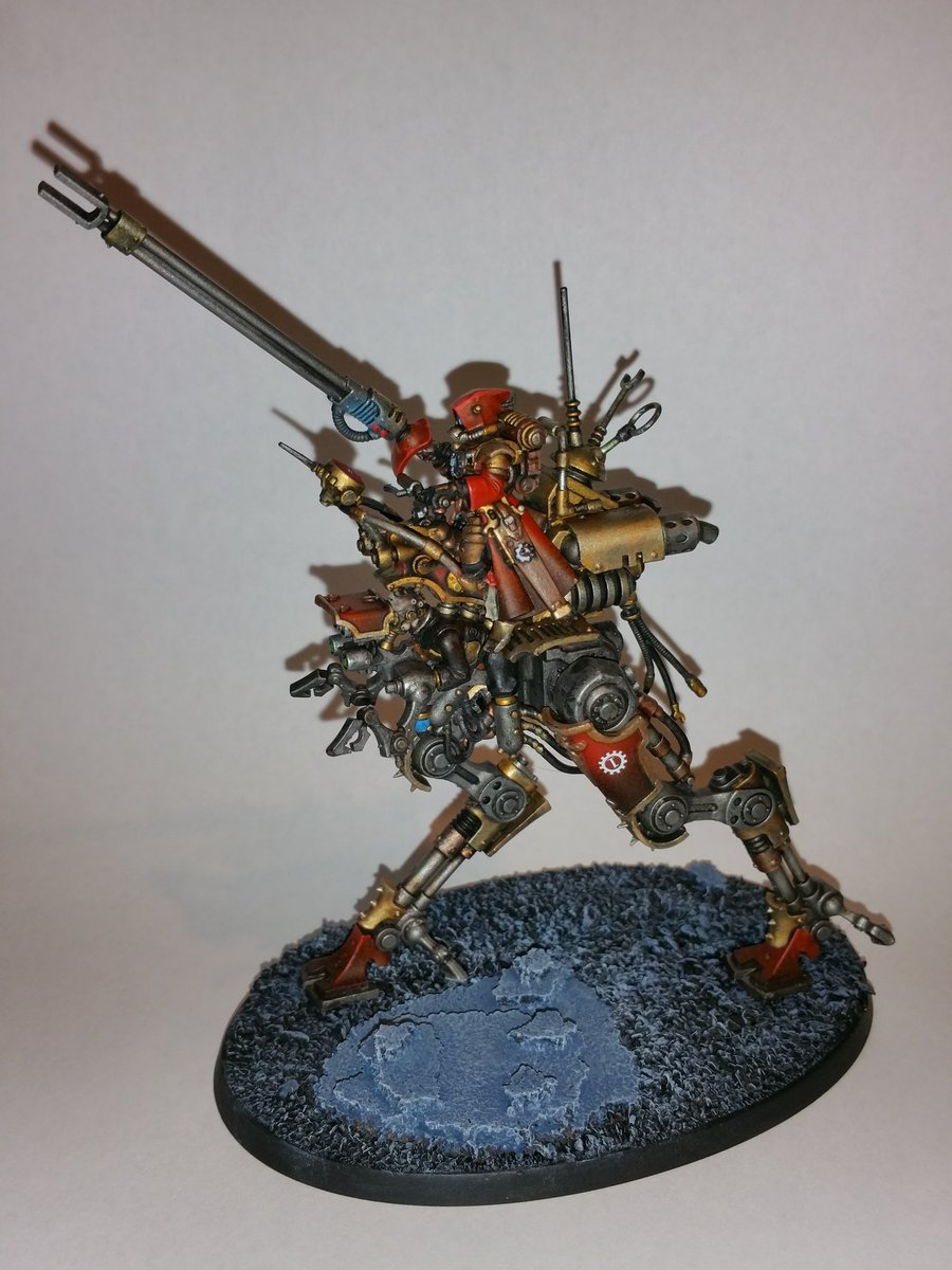 For #miniaturemonday my 1st #skitarii dragoon. #40k #warmongers https://t.co/8bIIuC8kOz
