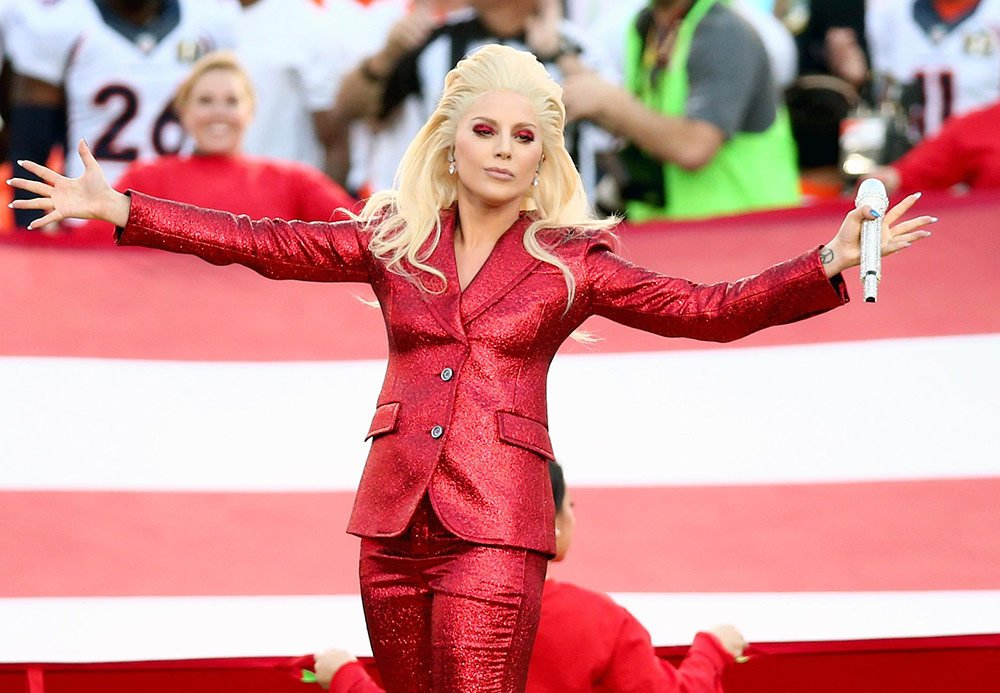 REPLAY: Lady Gaga's stunning SB50 national anthem shines.