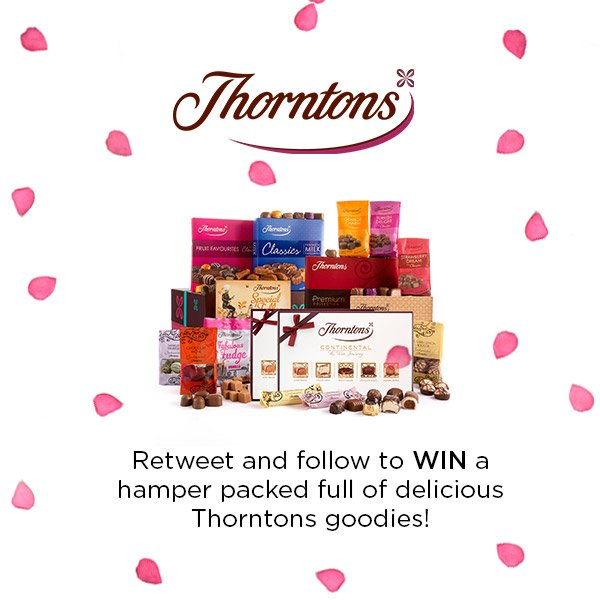 Make this Valentine's Day a sweet one with our @thorntonschocs giveaway!