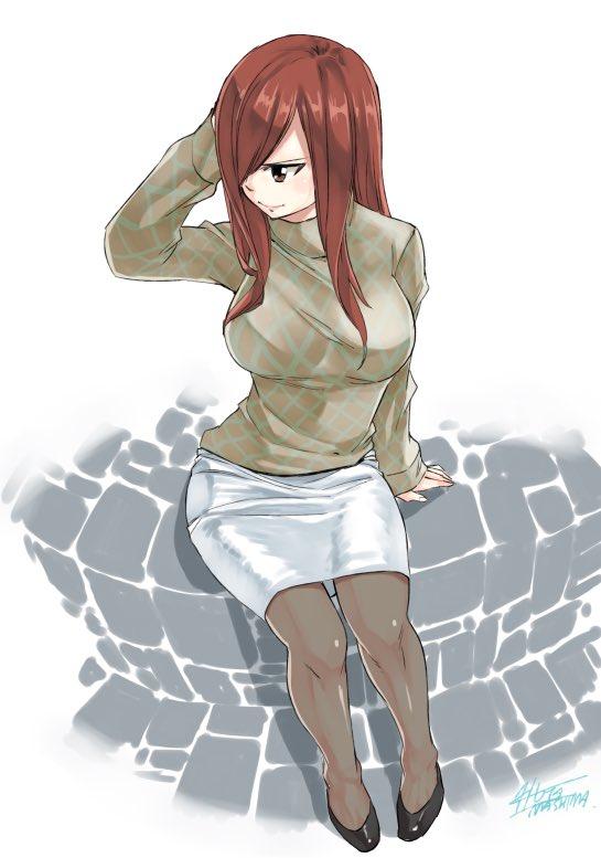 erza scarlet red