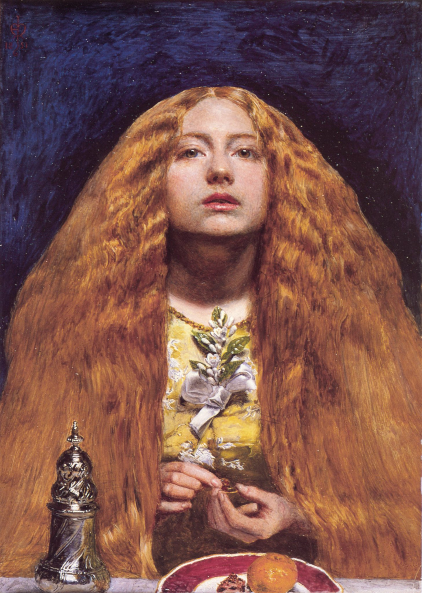"""RT @RealGDT: John, Everett Millais. English. Pre-Raphaelite. His art became immensely popular. Was often branded a """"sellout"""" https://t.co/2…"""