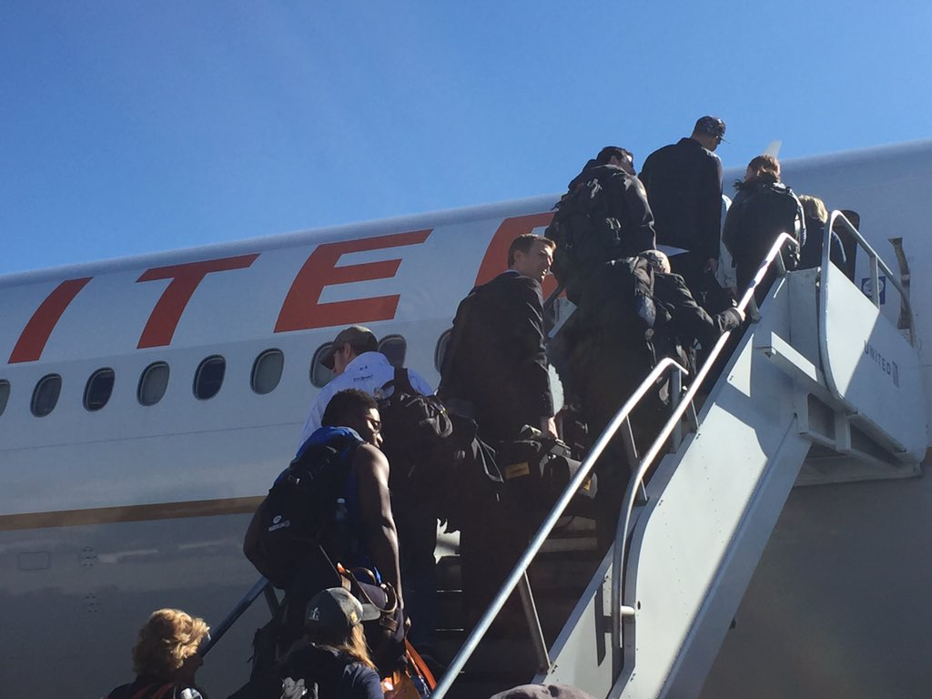 The WorldChampions are heading home! BroncosCountry