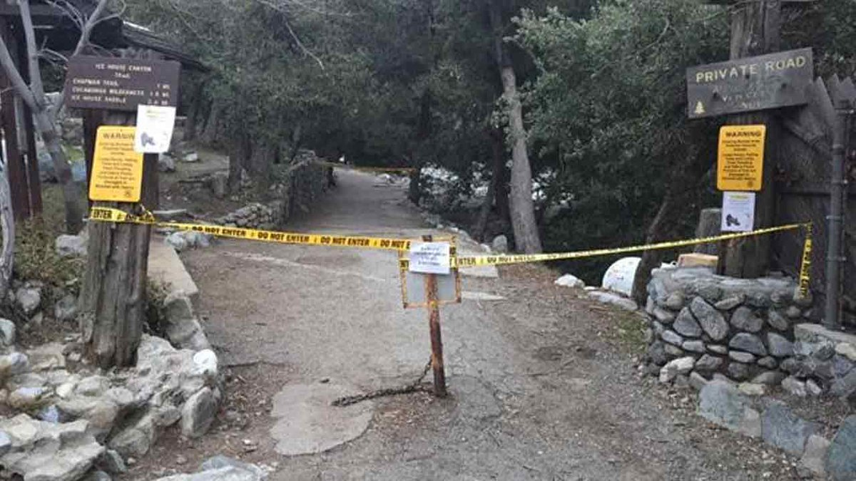 Second hiker in 1 week to fall to death in Mount Baldy; trails temporarily close