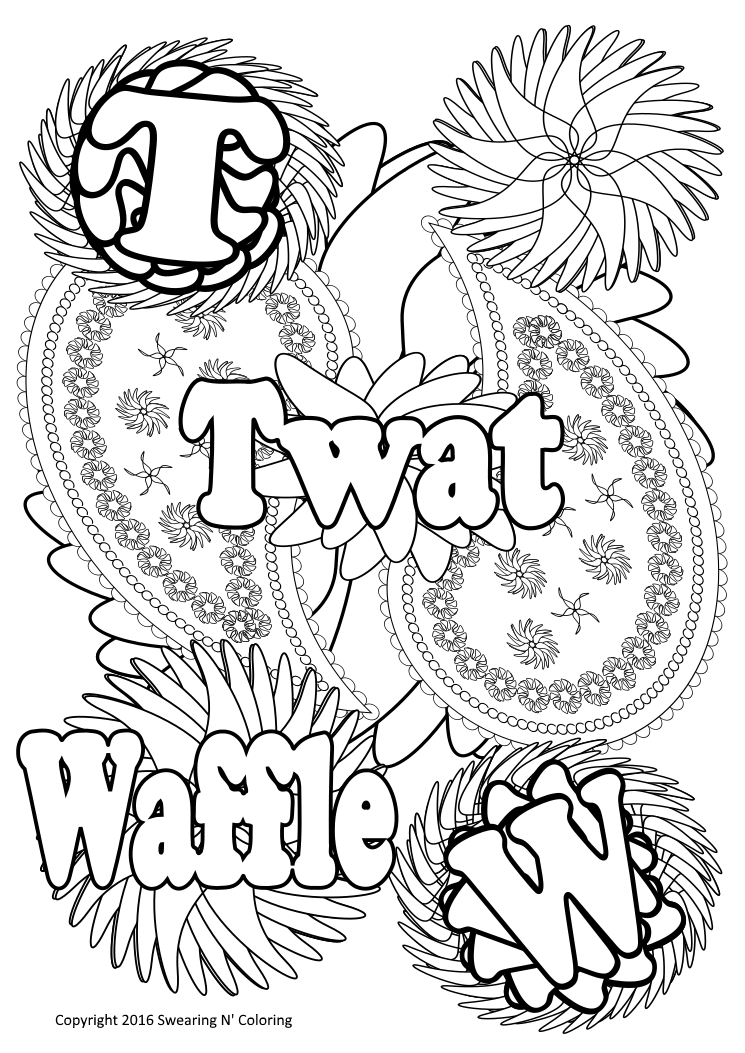 swearing n coloring on twitter twat waffle art httpstco6zf4fwsoe4