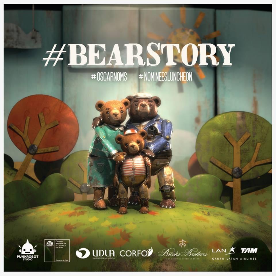 ¡Histórico!! #BearStory gana primer #Oscars para Chile! Felicitaciones #GabrielOsorio y equipo @PunkrobotStudio https://t.co/AEbddPGejU