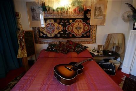 Fans can have JimiHendrix experience at guitarist's former home